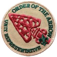 OA Unit Representative Patch